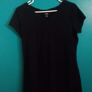 a.n.a soft black tee shirt size Large (L)